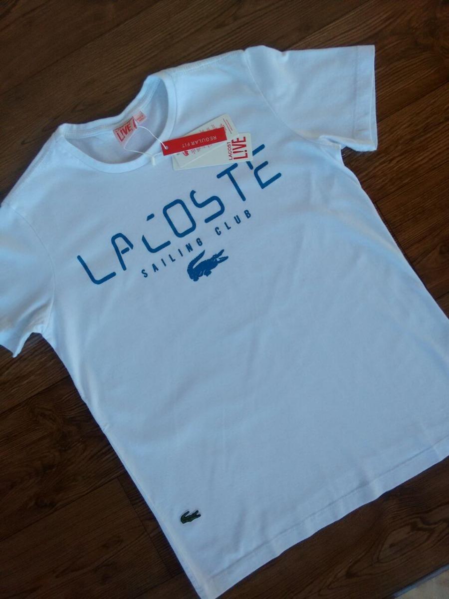 2391d19fa6862 Camiseta T-shirt Lacoste Promocional Kit 2 Peças - R  41