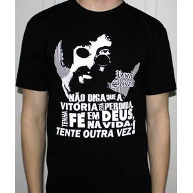 Camiseta T-shirt Raul Seixas Tente Outra Vez
