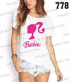 a0f5813e2 Camiseta Barbie Feminina Estilizada - Calçados
