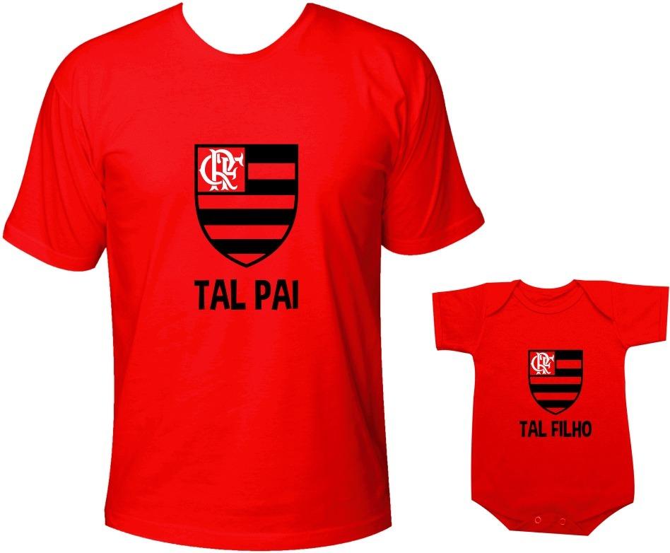 113bd012931a6c Camiseta Tal Pai Tal Filho Flamengo Campeão Carioca Times