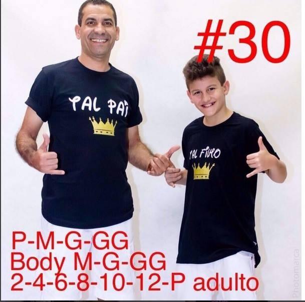5cd7b5516dfacf Camiseta Tal Pai Tal Filho - Moda Pai E Filho