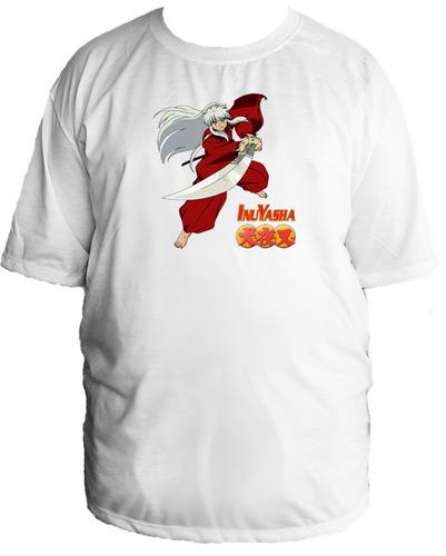 camiseta tamanho especial inuyasha agome sesshoumaru 03