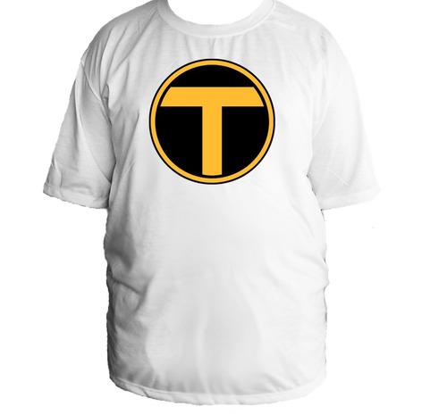 camiseta tamanho especial jovens titãs teen titans 001