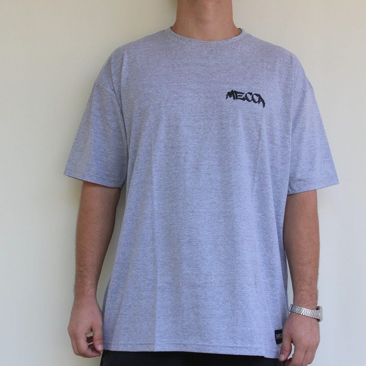 483f5d4641 Camiseta Tamanho Grande Manga Curta Mecca - R$ 44,90 em Mercado Livre