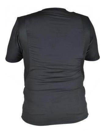 camiseta tática com coldre