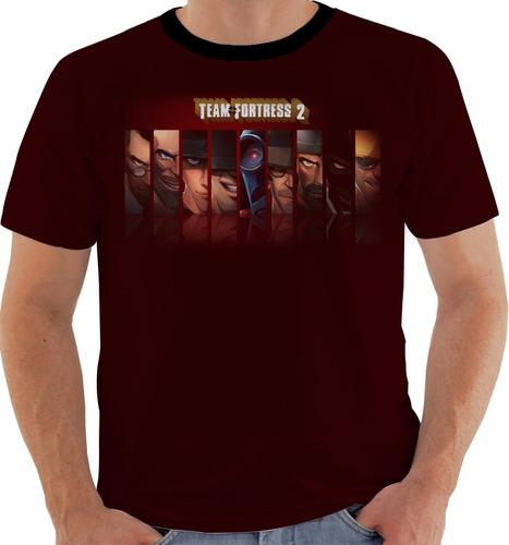 camiseta team fortress 2 - games m162