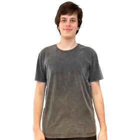 Camiseta Teese Básica Preto Marmorizado