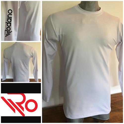 camiseta termica blanca rodano original todos los talles