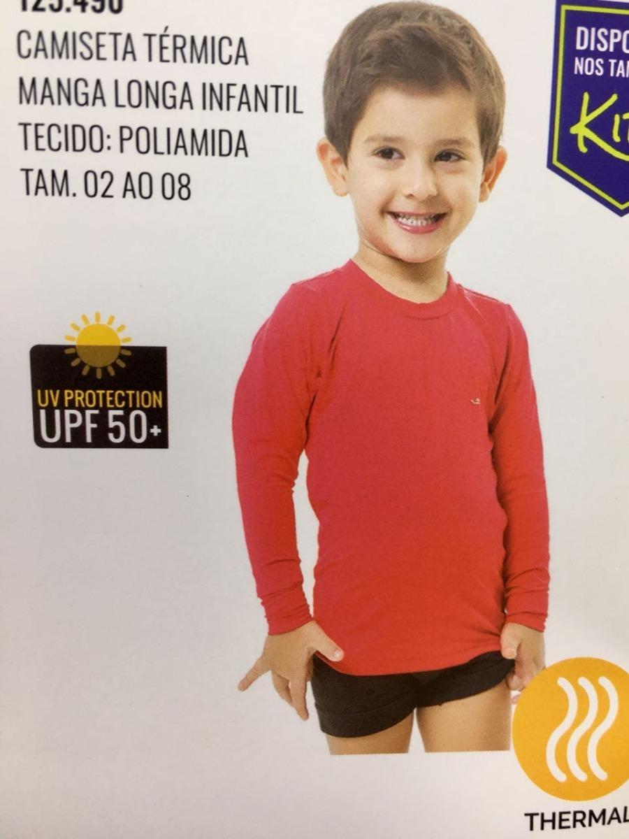 camiseta térmica elite com proteção solar uv 50 infantil. Carregando zoom. 7cc17148bdeb9