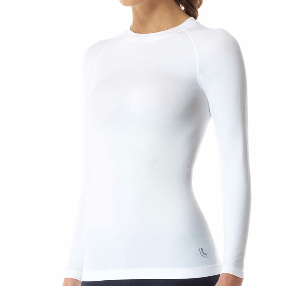 9828ce28c0 Camiseta Térmica Feminina Manga Longa Segunda Pele Lupo - R  77