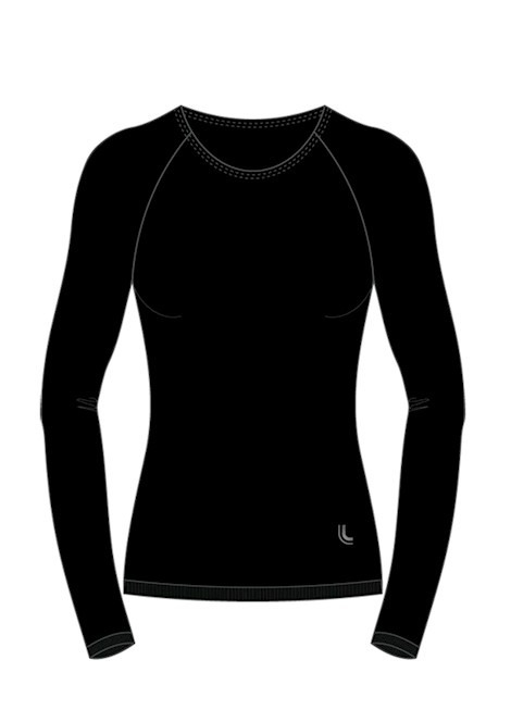 aef871b0d7a65 Camiseta Térmica Feminina Manga Longa Segunda Pele Lupo - R  108