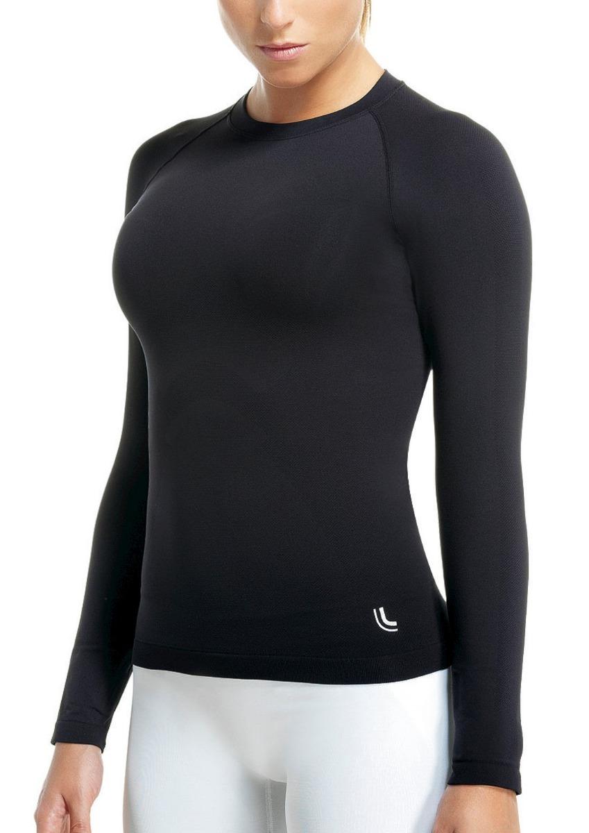 f3c93cc5d camiseta térmica feminina manga longa segunda pele lupo. Carregando zoom.