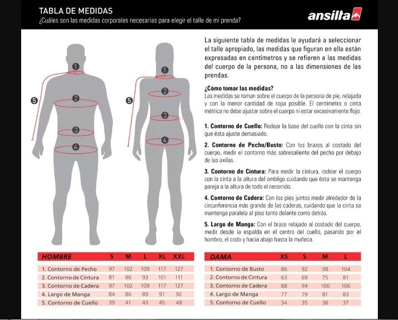 remera camiseta termica ansilta ares polartec frio hombre · camiseta  termica hombre 32093cb27042f