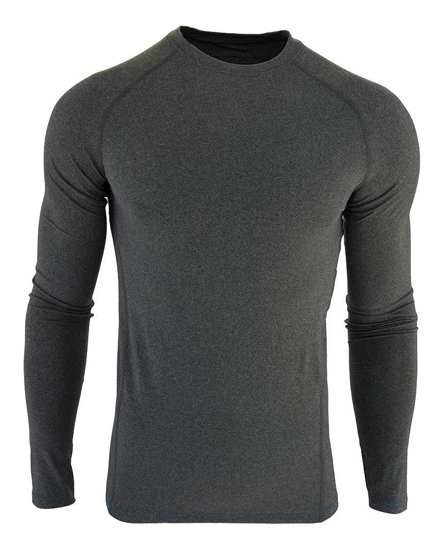 diseñador nuevo y usado varios colores vívido y de gran estilo Camiseta Termica Hombre Trekking Running Surfanic Carbon Dri