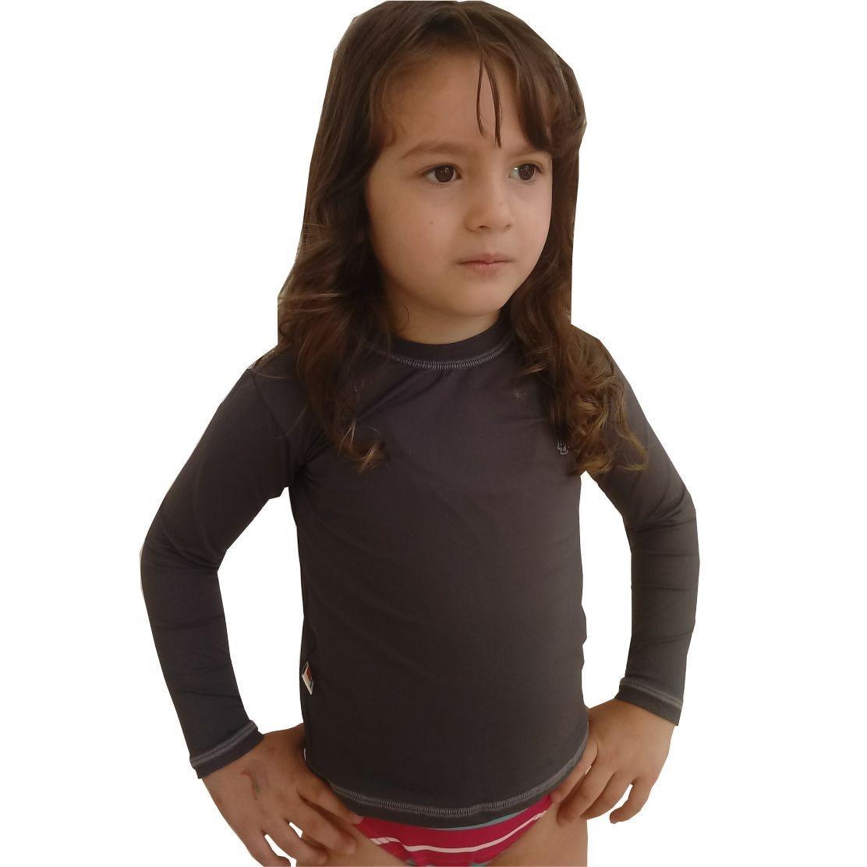 camiseta térmica infantil proteção solar uv50. Carregando zoom. 15199334d829e