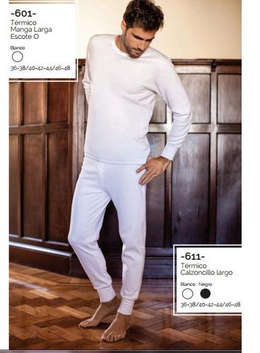 camiseta termica  manga larga tres ases hombre art.601