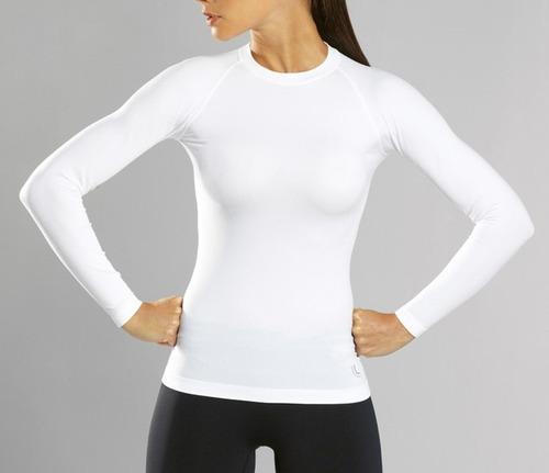 camiseta térmica manga longa feminina lupo i-max 71012-001