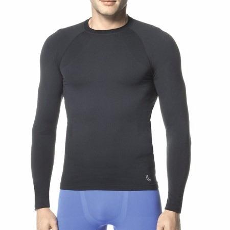 675950d23 Camiseta Térmica Manga Longa Segunda Pele Lupo Sem Costura - R  132 ...