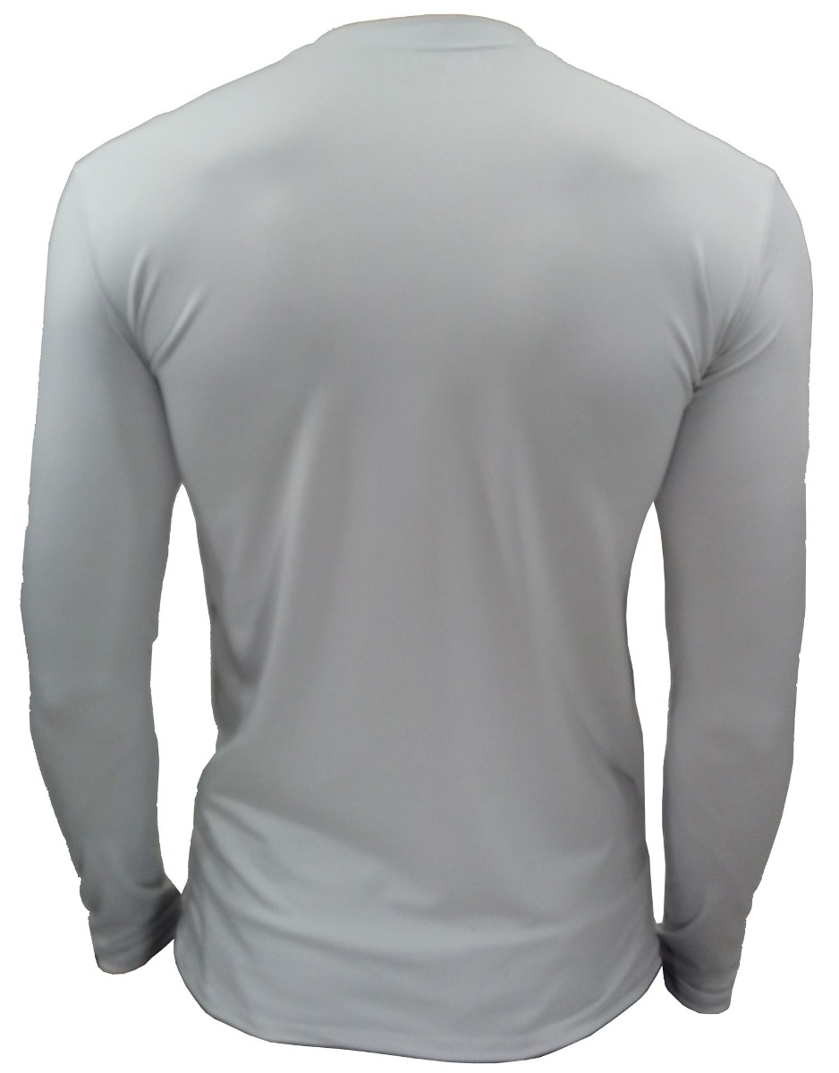 camiseta térmica masculina plus size cinza frete grátis. Carregando zoom. f8f2bb72756f9