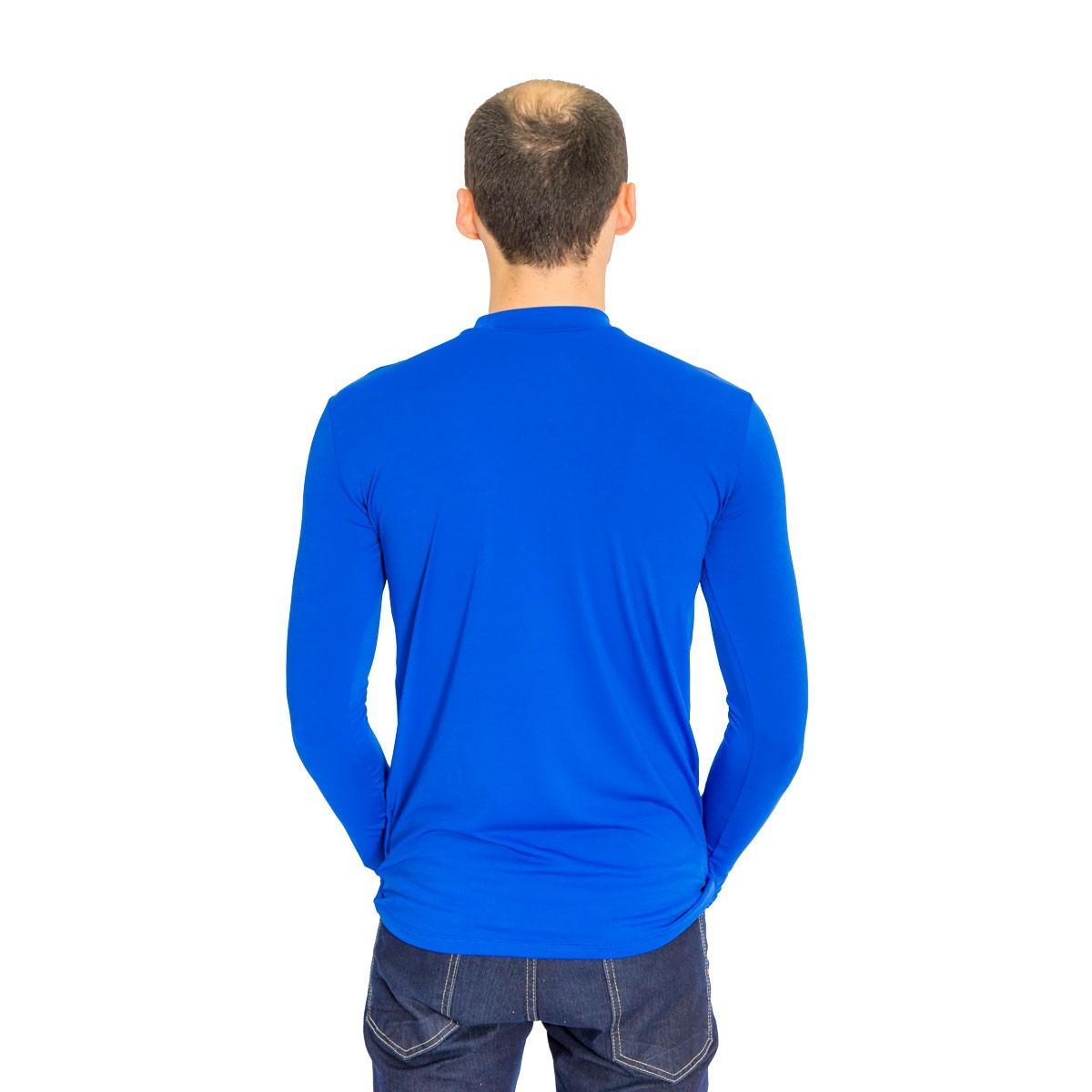 camiseta térmica masculina segunda pele azul royal off. Carregando zoom. e1c151aa11237