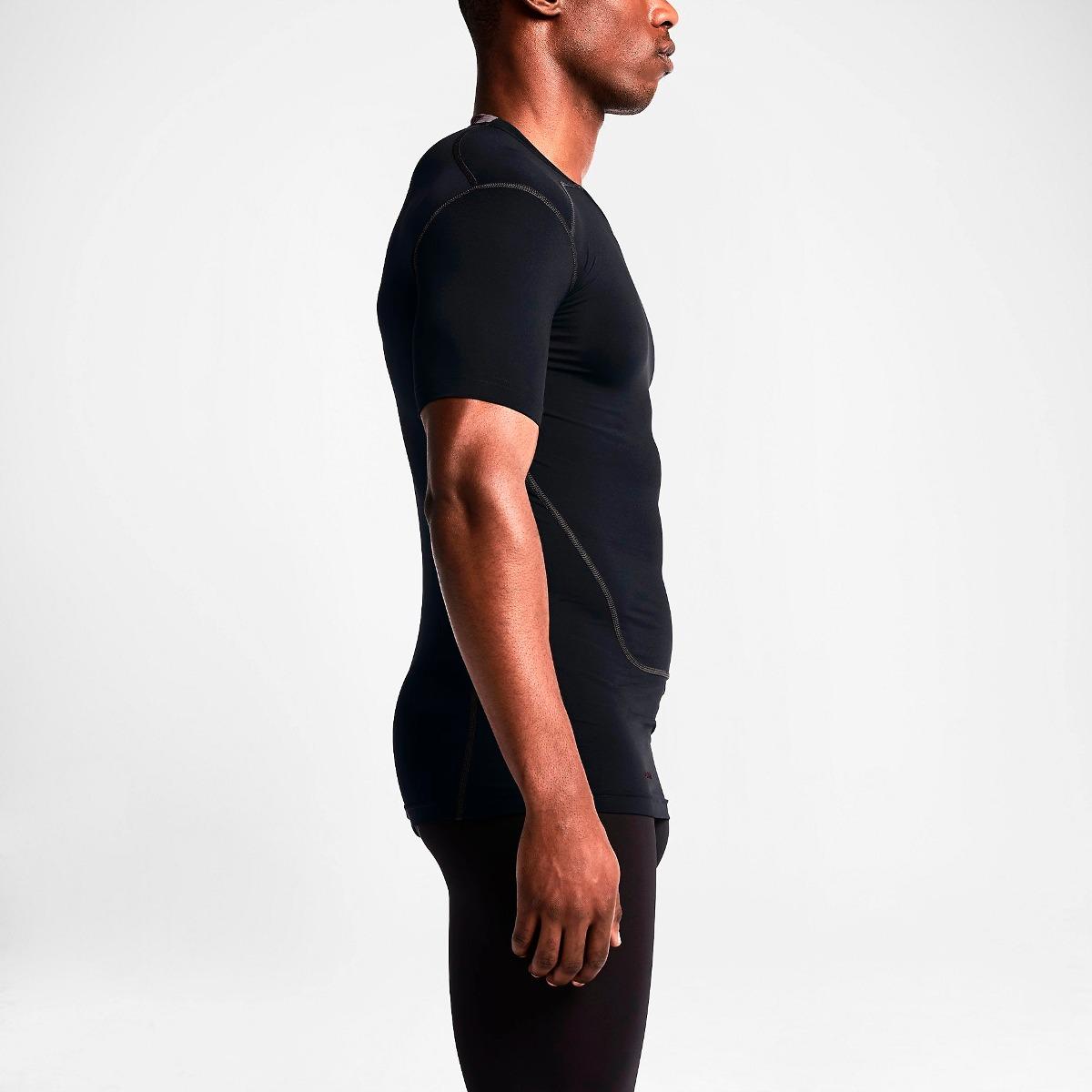 camiseta térmica nike pro combat compressão - g - v2mshop. Carregando zoom. 0a8daa6fc2bf8