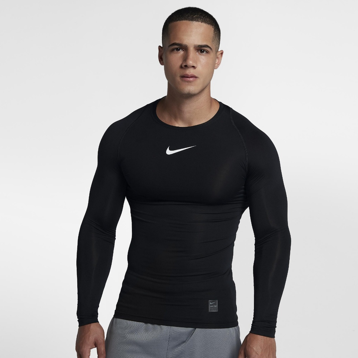 61ab4271e3 camiseta térmica nike pro top compression masculina(dpluvas). Carregando  zoom.