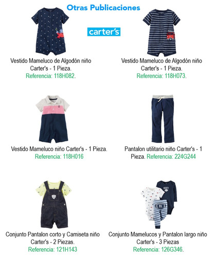 camiseta termica niño carter's carters ref.236g512