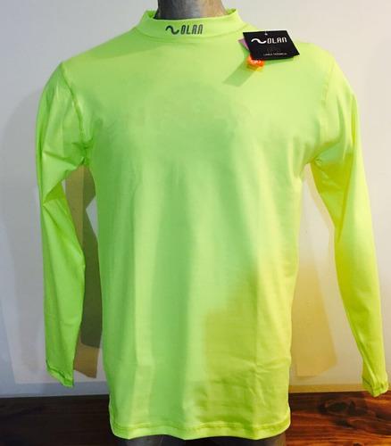 camiseta termica olan, spot dry fresh. original manga larga