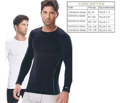 camiseta termica remera manga larga  marca dufour