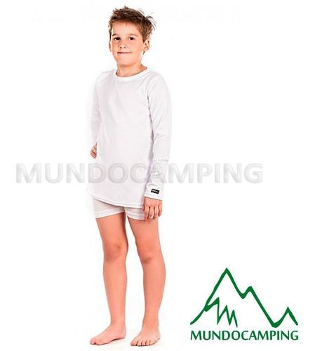 camiseta termica remera primera piel niño dufour manga larga