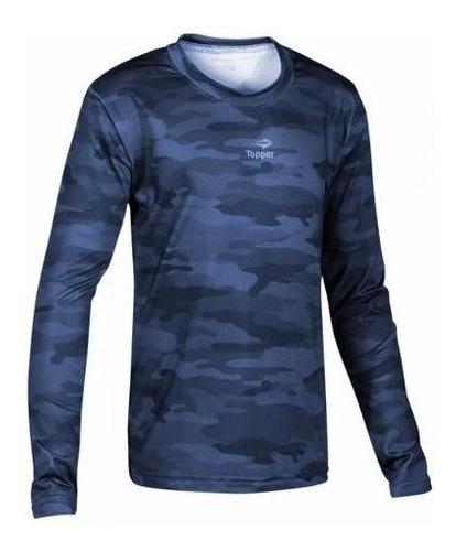 camiseta térmica topper de niño manga larga deportiva