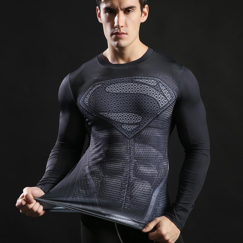 25510a05a4 camiseta termica uv dryfit super man manga longa compressao. Carregando  zoom.