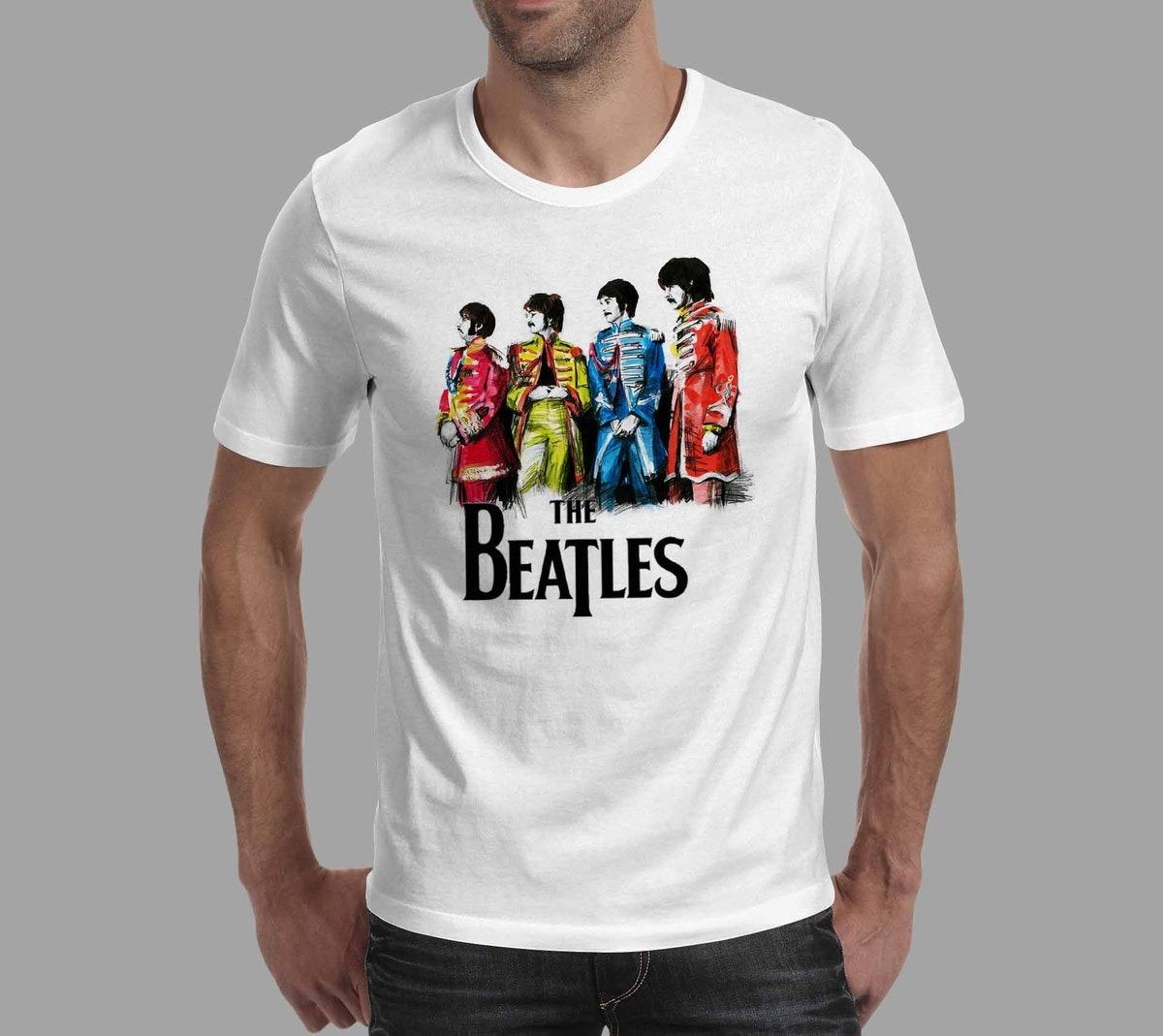 d6247f324 Carregando zoom... camiseta the beatles ...