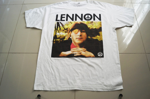 camiseta the beatles imagine lenon rock activity talla l
