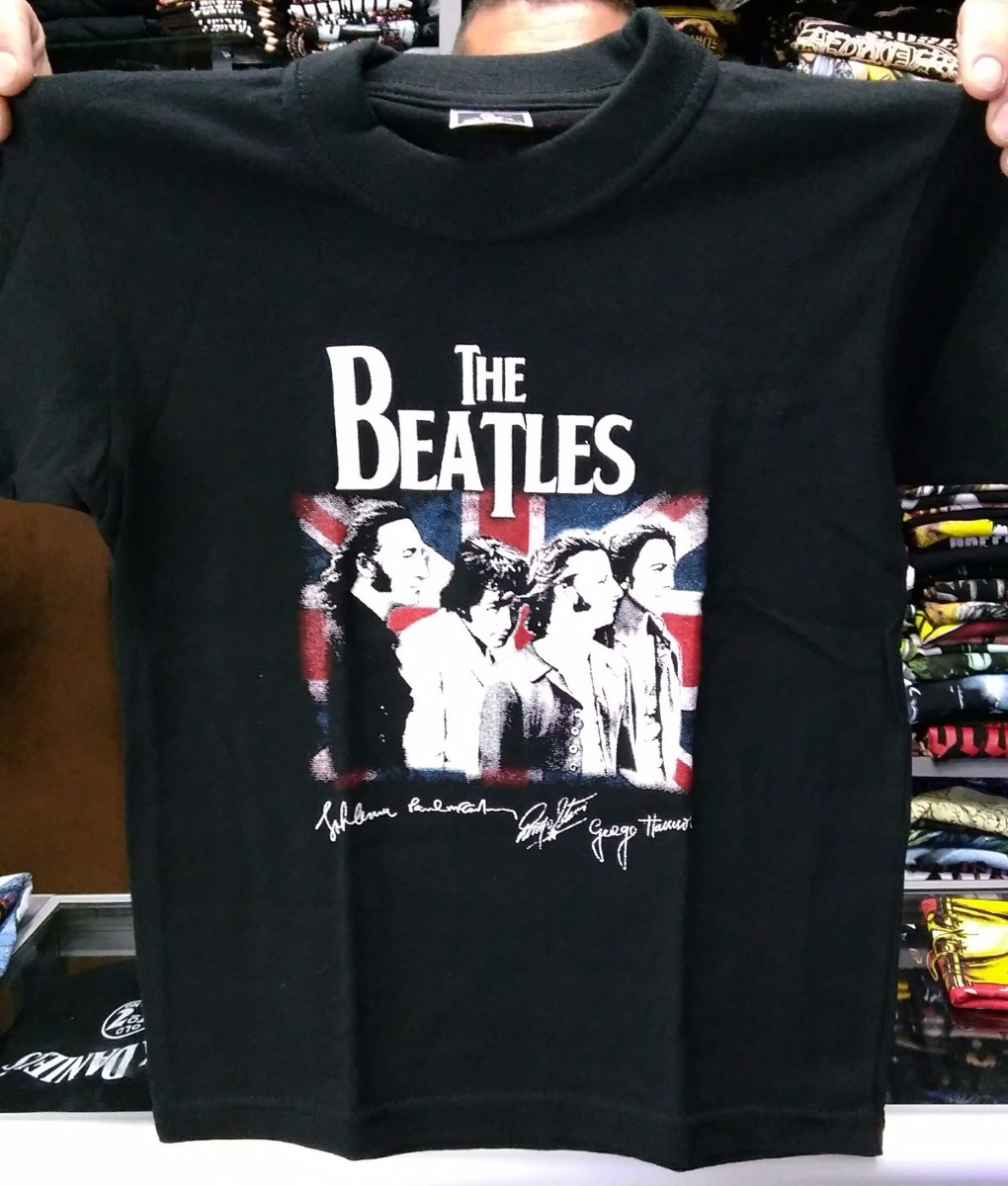 0a9aec027 Camiseta The Beatles - Niño a -   26.000 en Mercado Libre