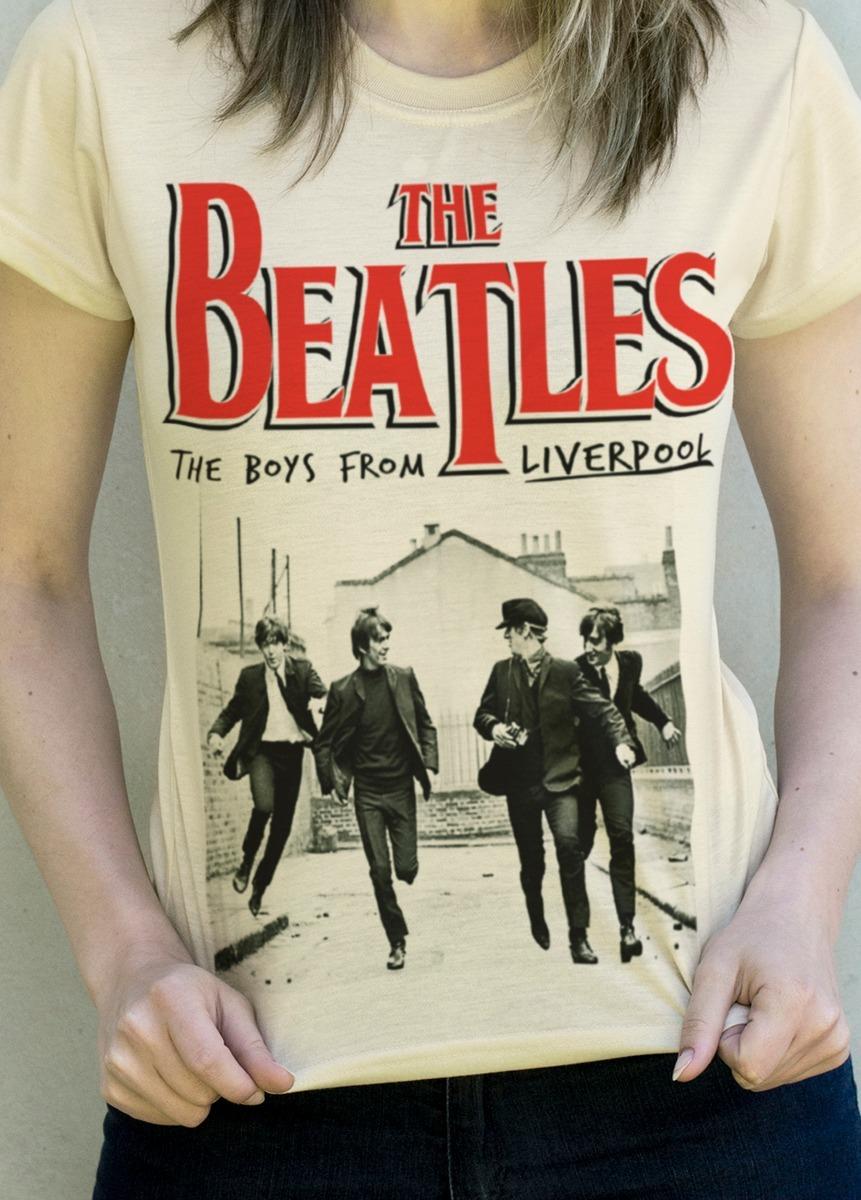 8d69efe2f Camiseta The Beatles Paul Mccartney John Lennon - R  49