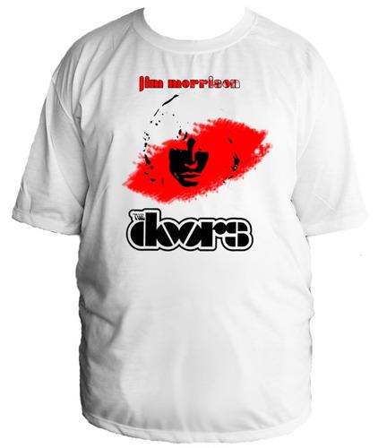 camiseta the doors jim morrison rock  tamanho especial 06