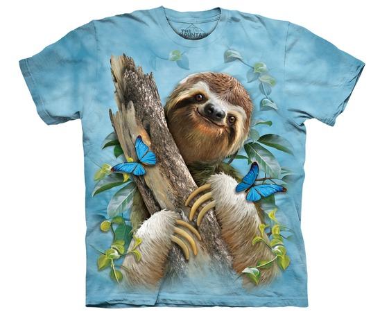 87b0b0c217 Camiseta The Mountain 3d - 100% Algodão - Bicho Preguiça - R  94