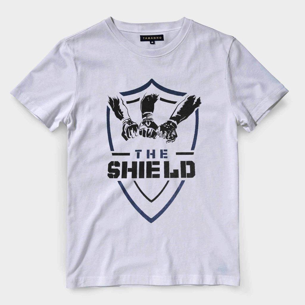 9b974b554 camiseta the shield wwe masculina wrestling blusa camisa. Carregando zoom.