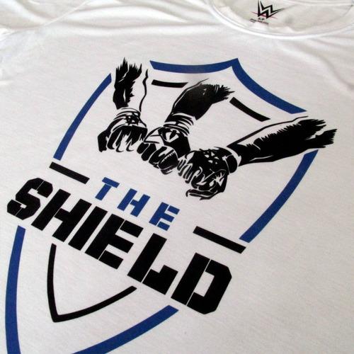 90e792f1e Camiseta The Shield Wwe Masculina Wrestling Blusa Camisa - R  33