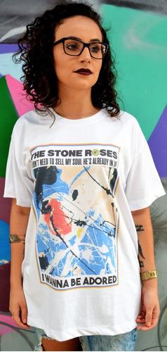 camiseta the stone roses i wanna be adored