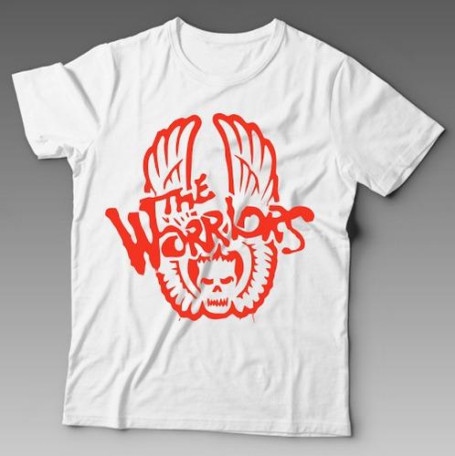 camiseta the warriors rock n' roll