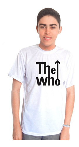 camiseta the who -