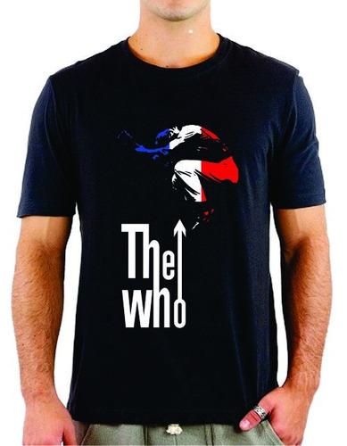 camiseta the who