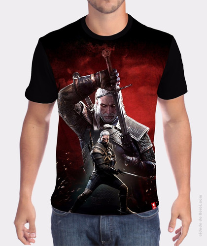 camiseta the witcher - cidade do herói