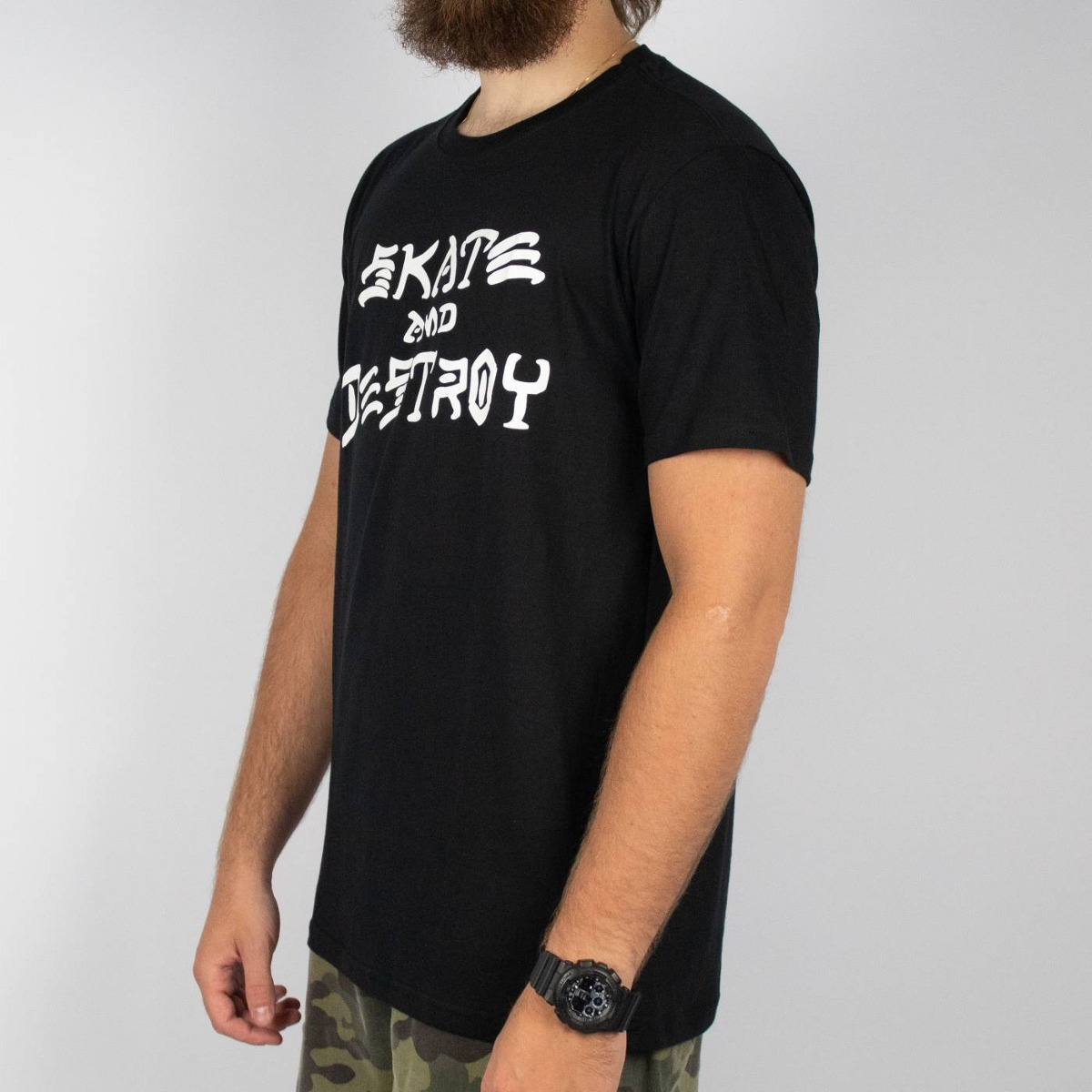489557c87 camiseta thrasher sad preta original. Carregando zoom.