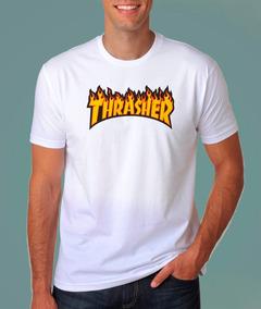 c9192a2a6e Camiseta Thrasher Várias Cores E Estampas - Camisetas e Blusas no Mercado  Livre Brasil