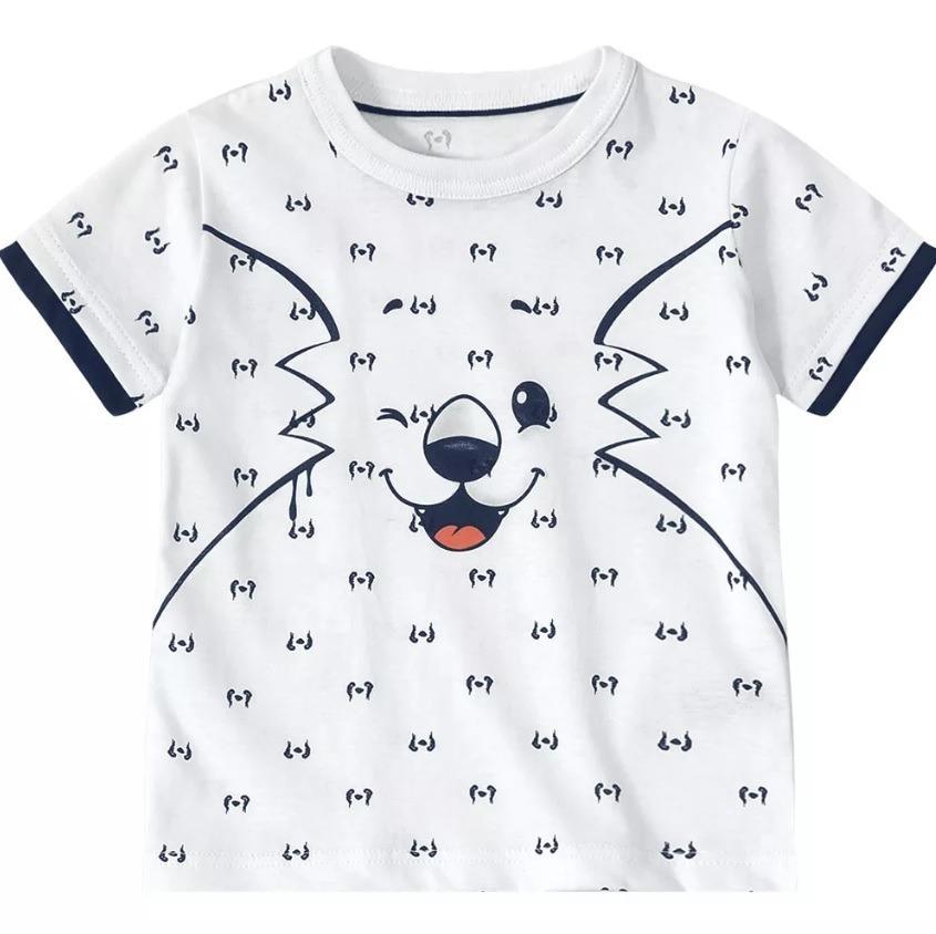 6390c84ba8 camiseta tigor t. tigre baby cor branca ref. 10206403. Carregando zoom.