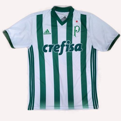 camiseta time palmeiras nova branca 2017 masculino promoçao