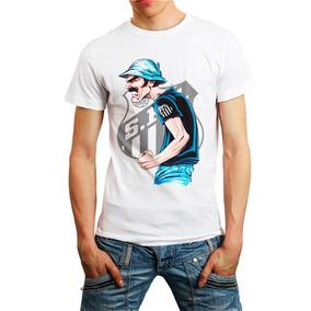 7ddc7c6f17 Camisa Do Santos Personalizada no Mercado Livre Brasil